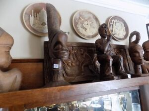 wooden carved figures - nice selection