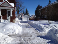 Snow / Ice Removal, ON~DEMAND ~ Per Time Service & Salting...