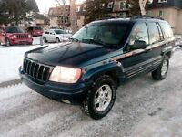 2000 Jeep Grand Cherokee Limited highway km SUV, Crossover
