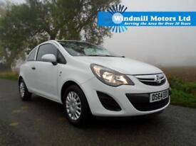 2014/64 VAUXHALL CORSA 1.2 i 16V S 3DR WHITE - LOW MILEAGE - IDEAL 1ST CAR