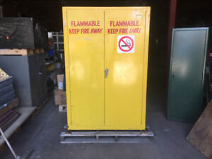 INDUSTRIAL STEEL SAFETY CABINET -  FLAMMABLE