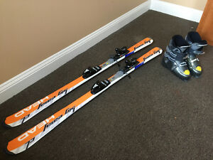 SKIS AND BOOTS GREAT CONDITION