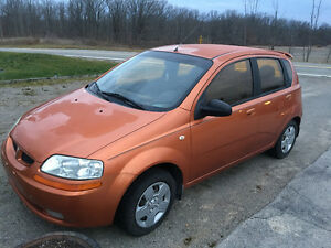 2005 Pontiac Wave Base Wagon