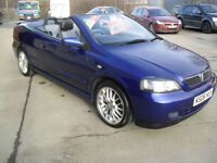 2006 Vauxhall Astra 1.8i 16v Exclusiv Convertible