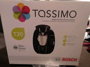 Brand new in box Tassimo brewing system