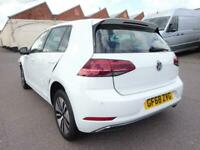 2018 68 REG VOLKSWAGEN E-GOLF ELECTRIC AUTOMATIC DAMAGED REPAIRABLE SALVAGE