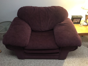 couch, chair & love seat for sale