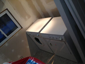 GE HE Stackable Washer & Dryer