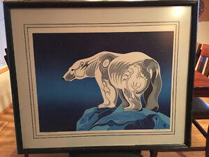 Archie Beaulieu -King of the North Limited Edition Print