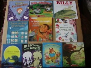 FRENCH BOOKS FOR CHILDREN - LARGE SELECTION OF