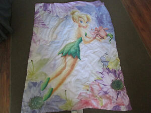 Tinkerbell Comforter and sheet set