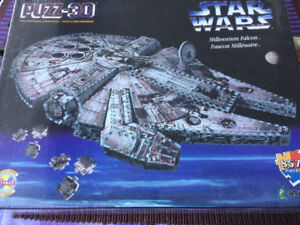 Collectible 3D Star Wars puzzle