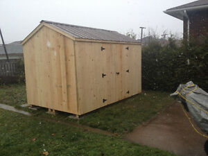 8'x12' Storage Shed Delivery Included to SSM