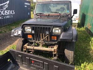 1991 Jeep Wrangler Convertible