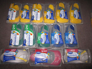 """Orthotic Insoles - Dr. Scholl's Custom Fit - Open """"Box"""" - $22.00"""