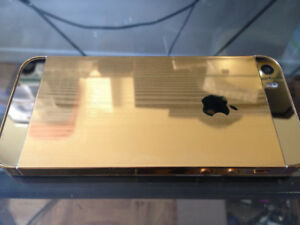 iPhone 5S 16GB Gold Plated - Rogers / Chatr