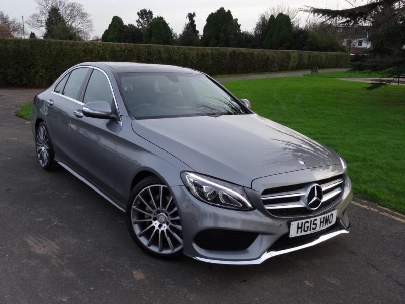 mercedes c class c220 cdi bluetec amg line premium pack 2015 15 in ilford london gumtree. Black Bedroom Furniture Sets. Home Design Ideas