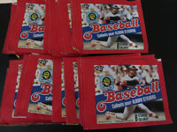 Lot of 30 packs of NEW unopened 1983 O-Pee-Chee baseball sticker
