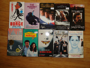 VHS Movies for sale. Cambridge Kitchener Area image 1