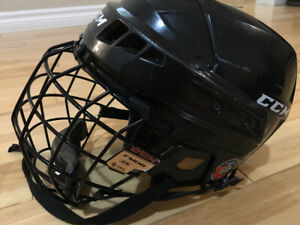 CCM Boys Hockey Helmet Combo