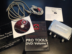 M-Audio Fast Track USB (1st gen) with ProTools Essential 8