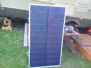 Solar panel and inverter