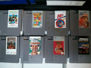 Nintendo NES video game lot of 8 $30