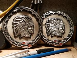 Cherokee Truck badges