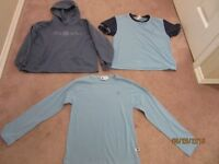 GIRL GUIDES T-SHIRT, LONG SLEEVED SHIRT AND A HOODIE