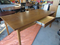 SOLID WOOD DESK / WORK TABLE
