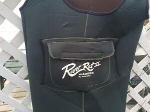 Neoprene chest waders- no boots