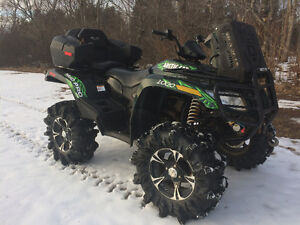 2013 ARTIC CAT 1000 MUD PRO (PLOW AVAILABLE) WE FINANCE