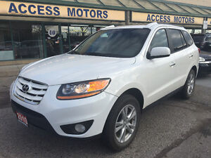 2010 Hyundai SUV, Limited,White on Black, Well Maintained