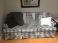 SOFA AND CHAIR WITH COUNTRY CHARM - Great for cottage or student