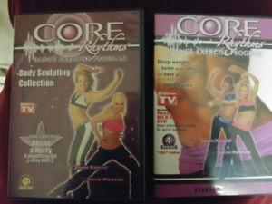 Core Rhythm Dance Exercise DVD's
