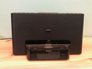 SONY Personal Audio Docking System (ICF-CS15iP) Radio and Remote