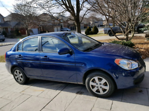2011 Hyundai accent 4 door