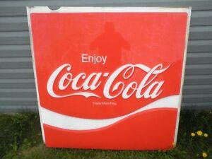 1970's Coca-Cola Sign Lens.