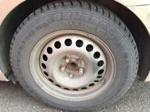Winter tires and rims, buy them together or separately!!!