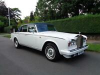 ROLLS ROYCE SILVER SHADOW II | 6.7 | CONVERTIBLE - LAUNDALETTE | 1978 MODEL