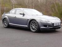 Mazda RX-8 PZ, 231 BPH, 56 000 MIles, FSH, Long Mot, Grey, 2006