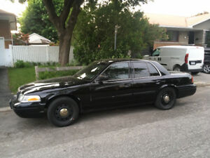2011 Ford Crown Victoria propane