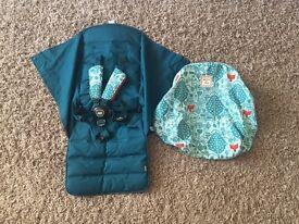 Mamas&papas donna Wilson Urbo bug fabrics and hood