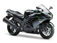 NEW KAWASAKI ZZ-R1400 ONE LEFT with FREE CARBON SCORPION TWIN EXHAUST ...