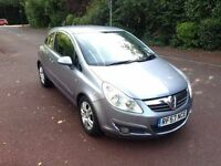 VAUXHALL CORSA CLUB 1.4 2008 AUTOMATIC. FULL HISTORY. DRIVES THE BEST. ONLY DONE 69k.