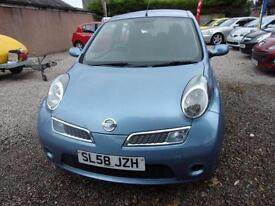 NISSAN MICRA 1.2 acenta 2008 Petrol Manual in Blue