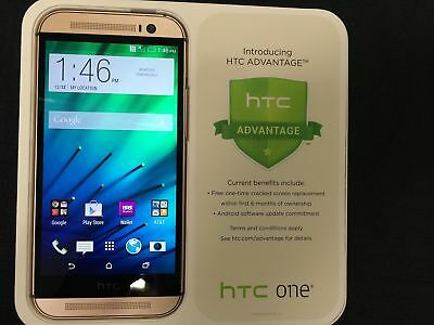 $149.95 - HTC One M8 32GB Unlocked GSM 4G LTE Android Smartphone - Amber Gold
