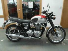 2017 Triumph Bonneville T120 Parallel Twin ABS Motorcycle Petrol Manual