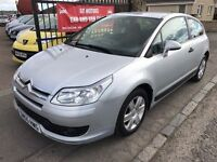CITROEN C4 1.6 VTR HDI (55) 1 YEAR MOT, WARRANTY