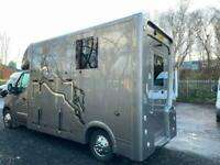 RARE AUTO 6 SPEED 2021 NEWBUILD RENAULT MASTER HORSEBOX - NO VAT